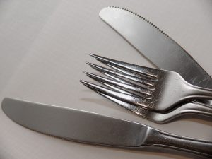 stainless utensils