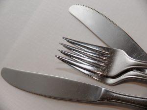 stainless utensils