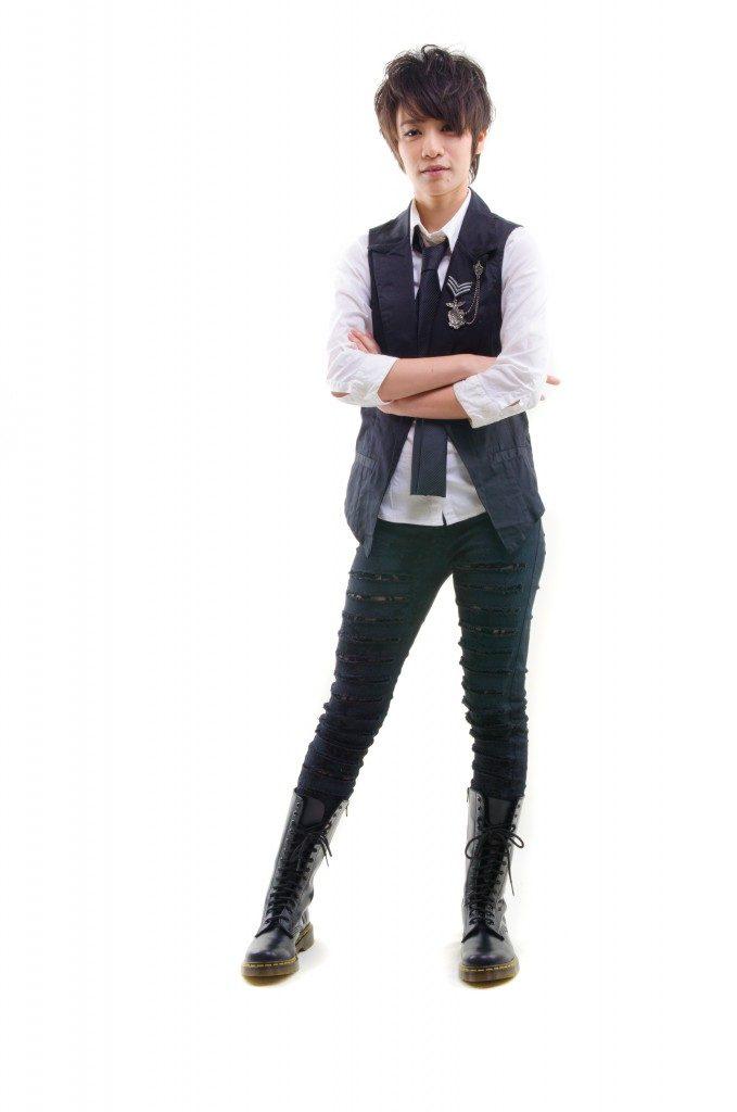 Kpop artist wearing boots