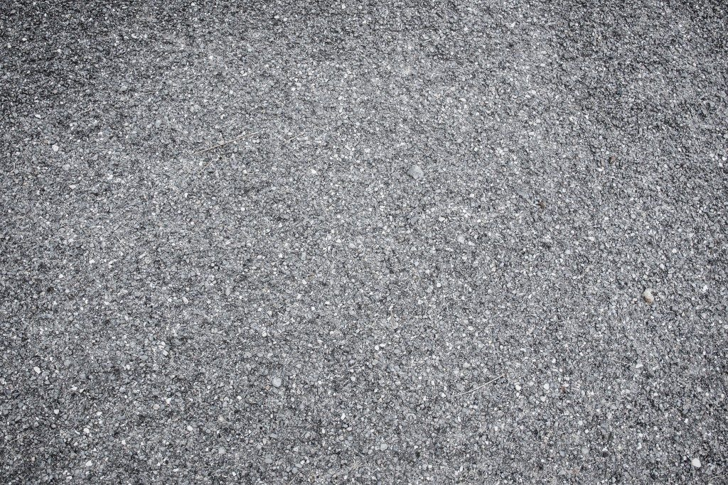 Asphalt surface road