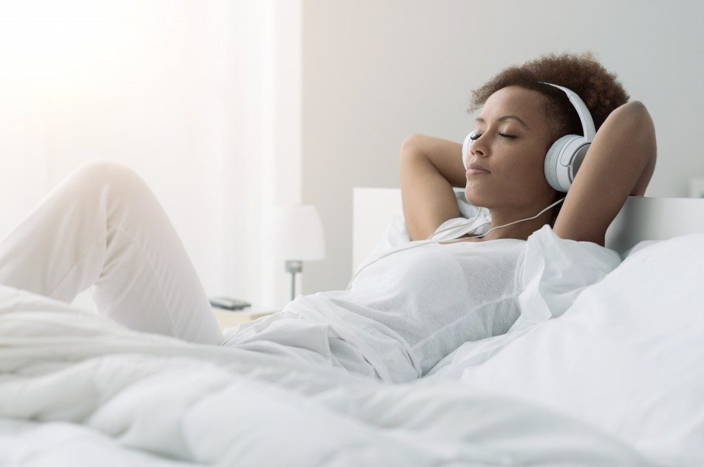 De-Stress for Better-Quality Sleep