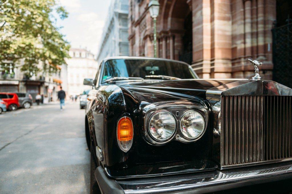 Stylish car for your wedding