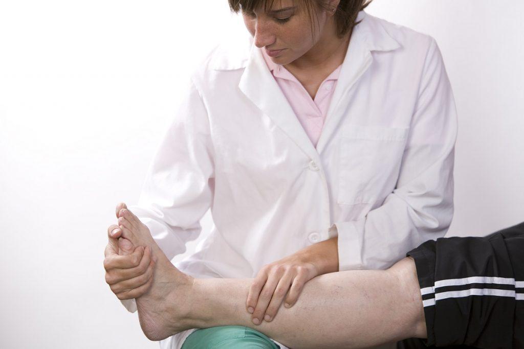 Foot check