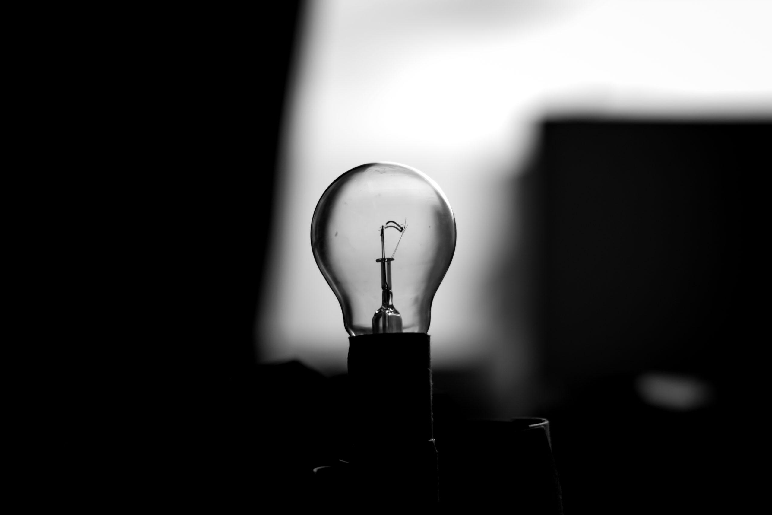 lightbulb not lit