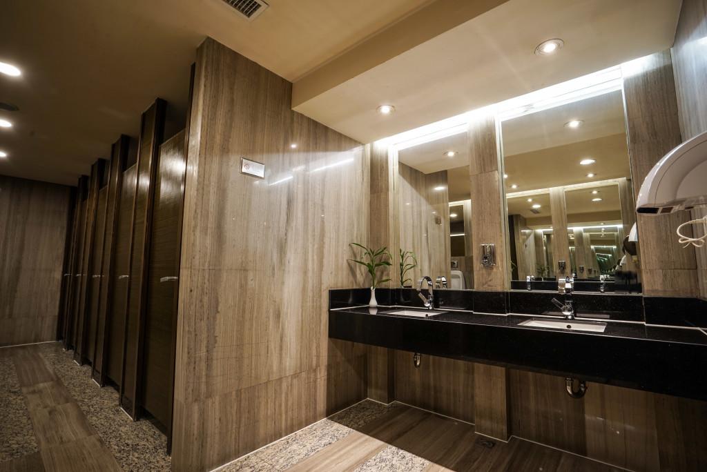 commercial restroom