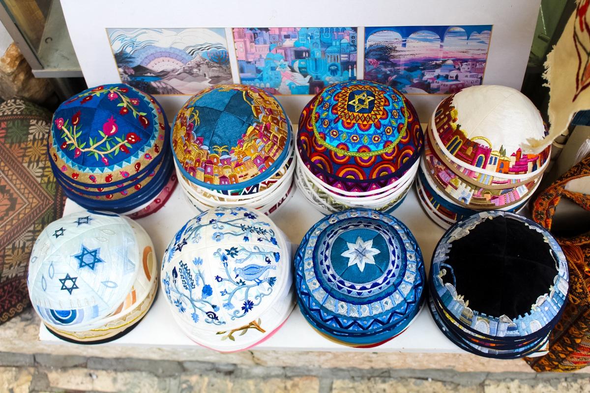 colorful pots