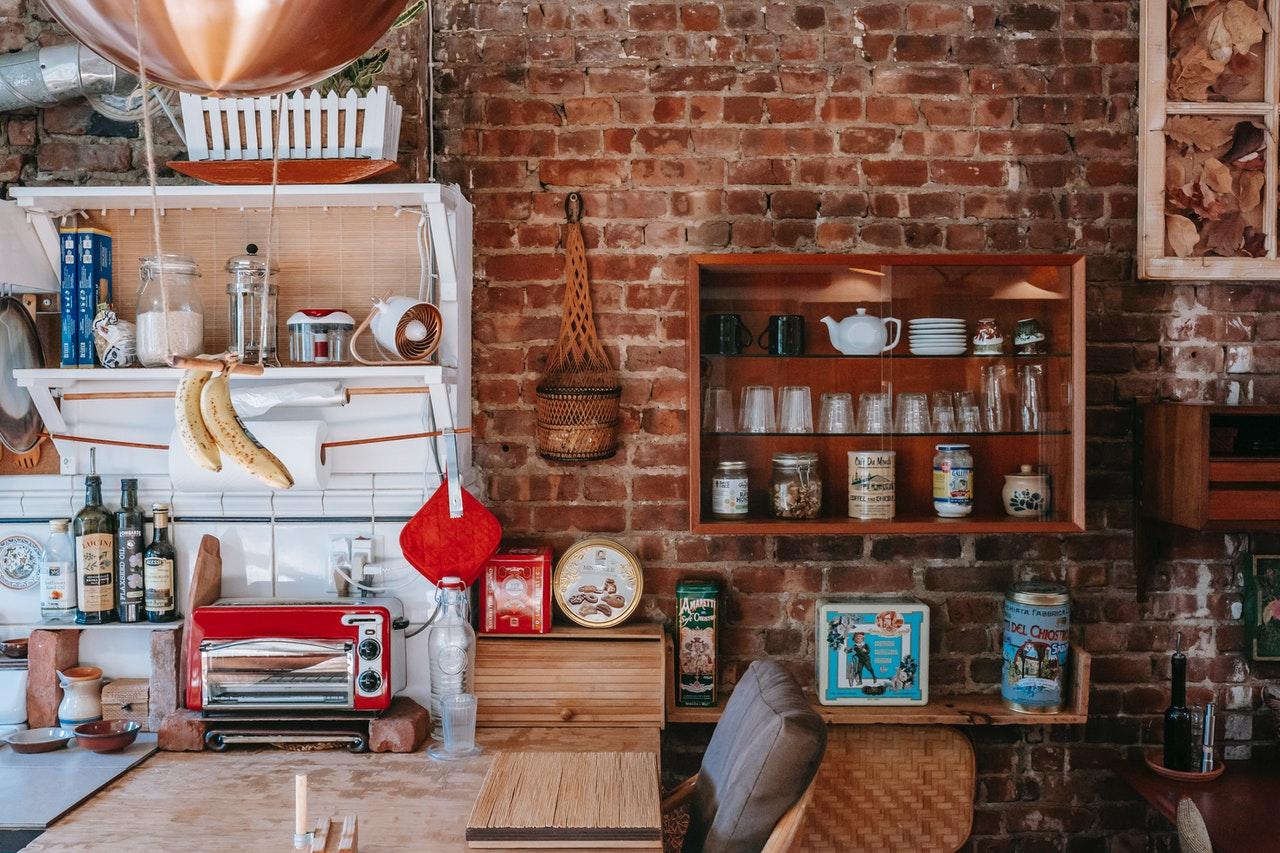 tidy kitchen storage